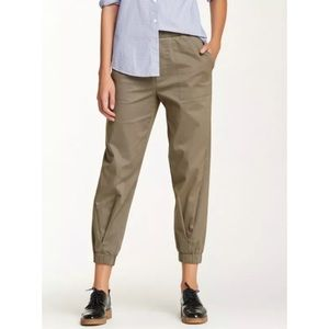 Band of Outsiders olive green women's jogger Sz 3